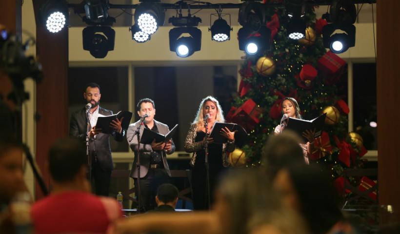 Público do RioMar se encanta com apresentação de ópera