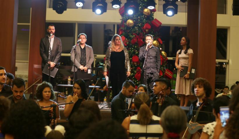 Vídeo: apresentação de ópera encanta o público no Natal Musical