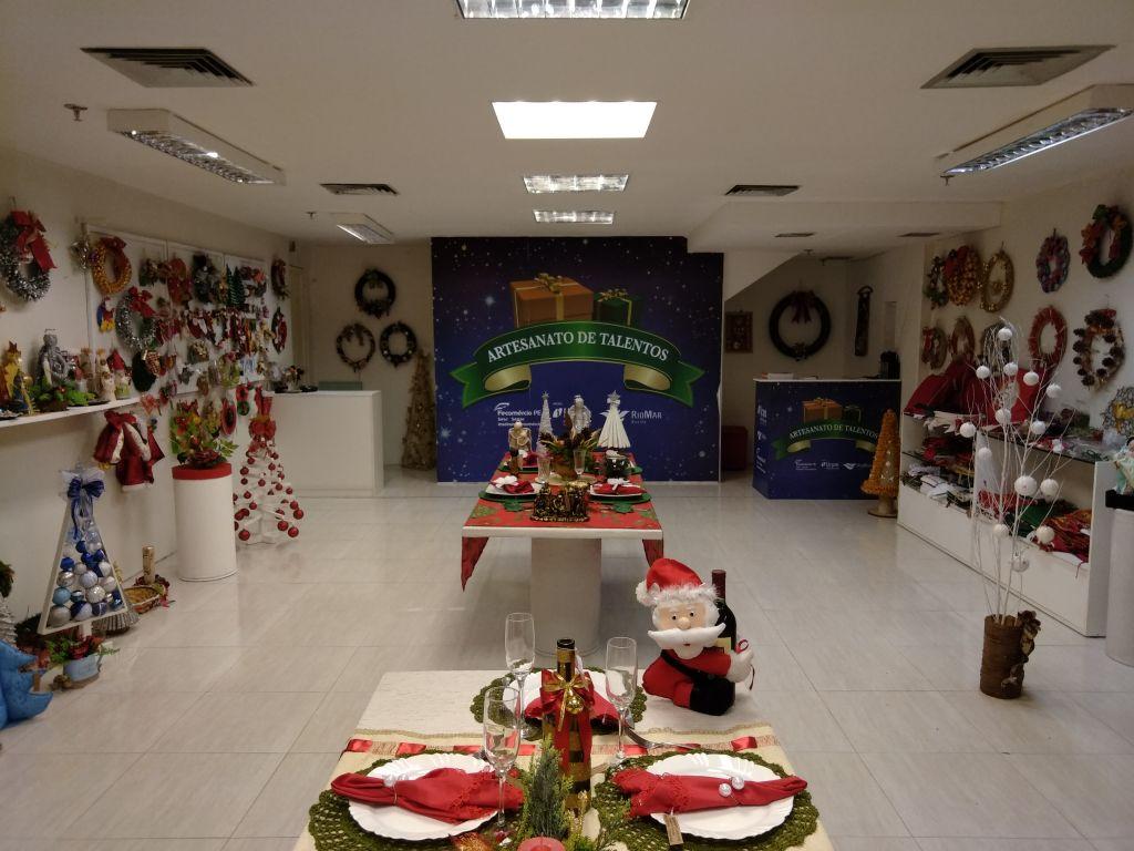Artesanato de Talentos e Natal solidário