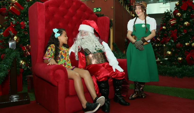 Vídeo: Diversão para todas as idades no Trono do Noel