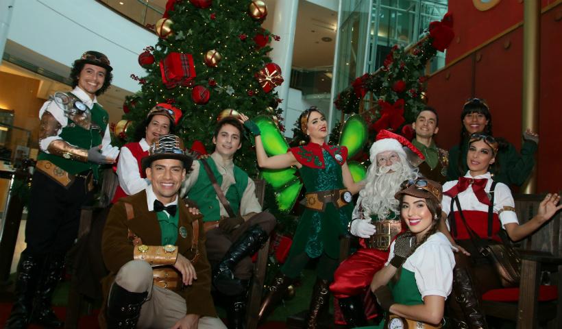 Atores profissionais dão vida aos personagens do Natal RioMar