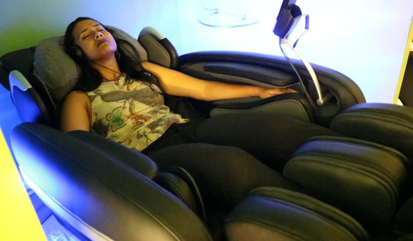 Massagem Express: tire um tempo para relaxar