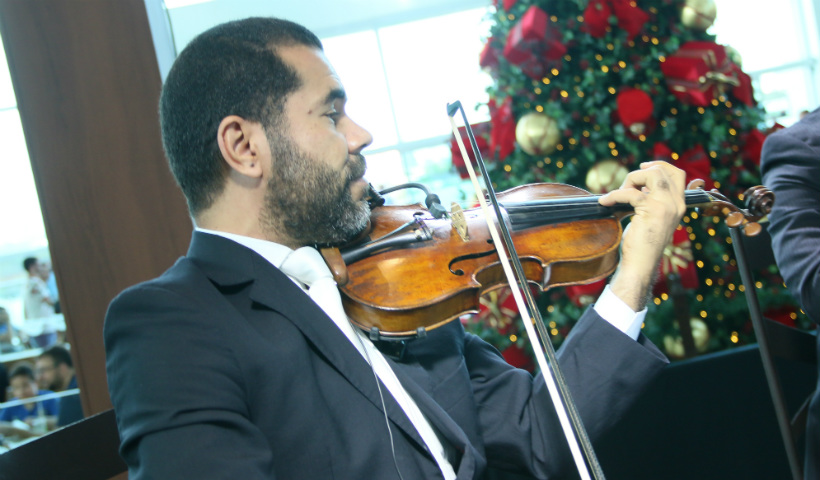 Sons do Natal Musical no RioMar Recife até o dia 24