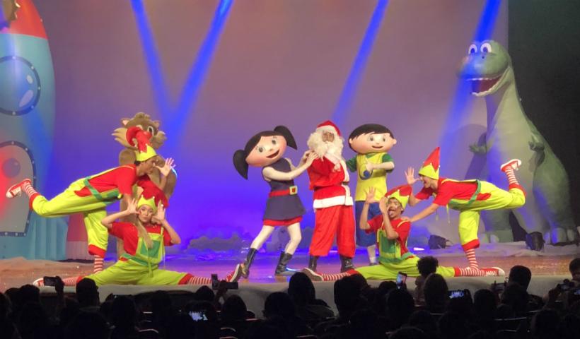 Show da Luna especial de Natal para os pequenos nesta sexta