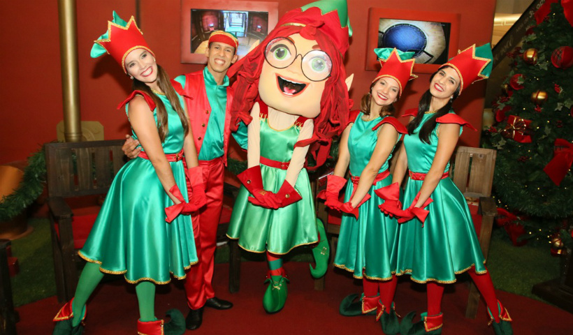 Fim de semana RioMar com Natal Musical e apresentação da Nina