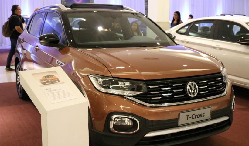 T-Cross, novidade da Volkswagen, presente no Motor Show Pernambuco