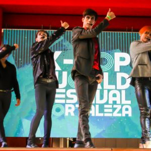 As turmas vão dançar no primeiro K-Pop Festival RioMar