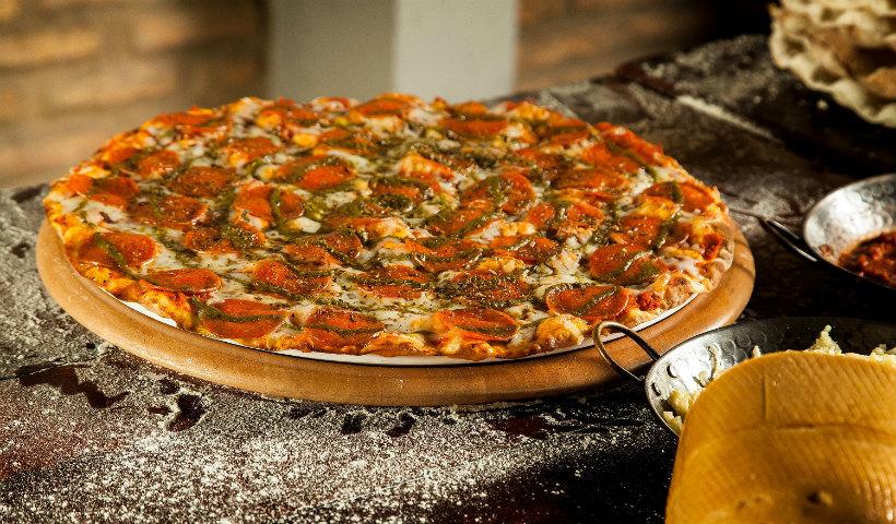 Pizza queridinha da Vignoli é um clássico com toque da casa