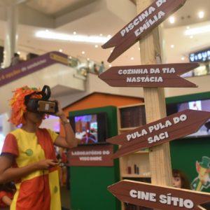 Vídeo: crianças curtem as aventuras do Sítio do PicaPau Amarelo