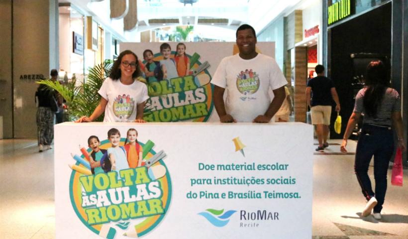 Campanha Volta às Aulas: já fez sua doação de material escolar?