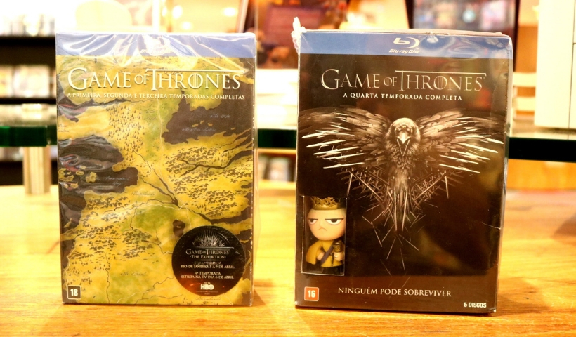 Temporadas completas de Game Of Thrones no RioMar