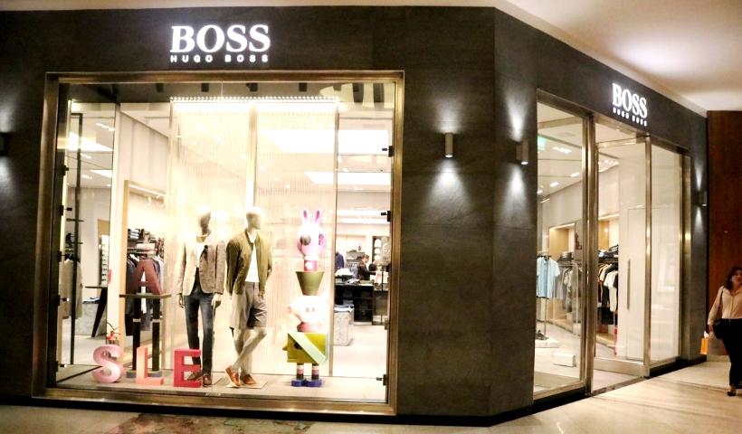 Hugo Boss: novo espaço com ainda mais conforto no RioMar