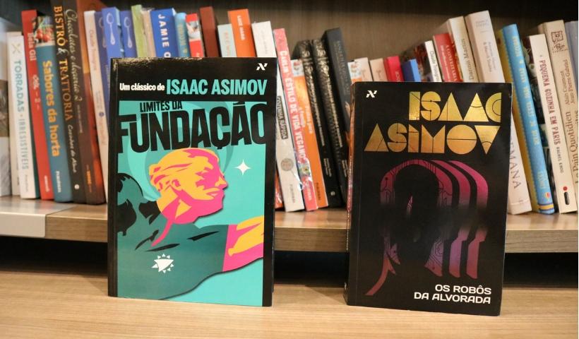 Obras de Isaac Asimov disponíveis nas livrarias do RioMar