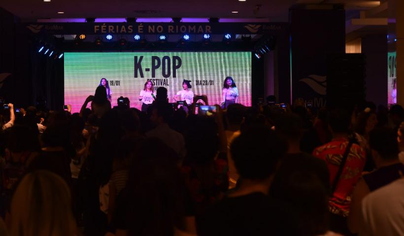 Muita energia marca o Festival K-Pop RioMar