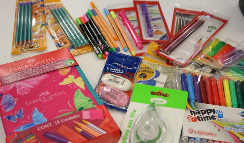 Itens de material escolar mais procurados