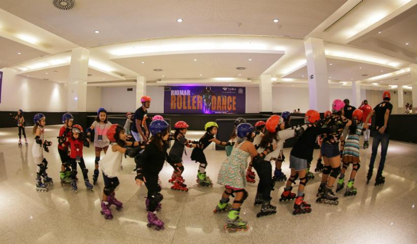 RioMar Roller Dance é diversão para todas as idades