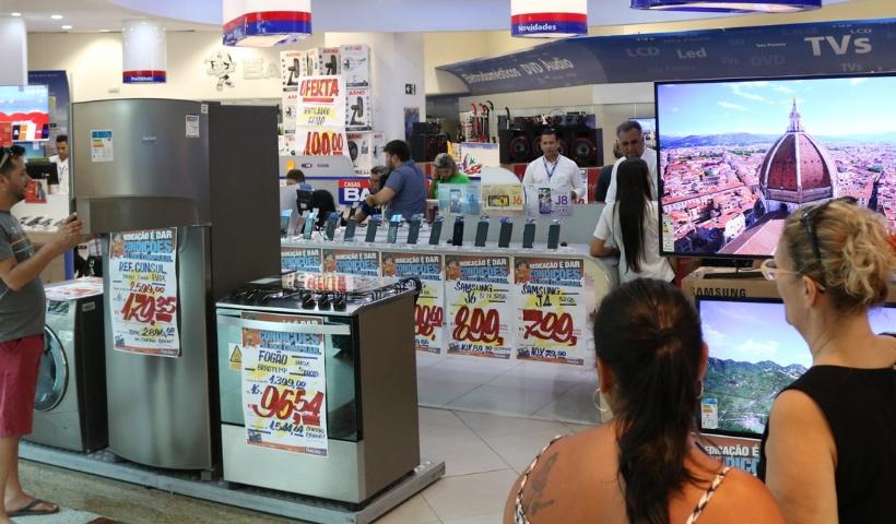 Clientes encontram mix de ofertas no Saldão de Ano Novo RioMar