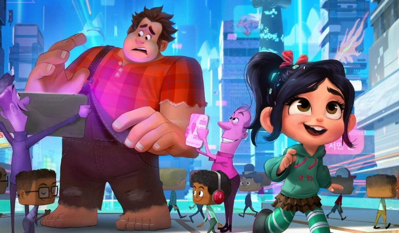"""Wifi Ralph – Quebrando a Internet"" estreia no Cinemark"