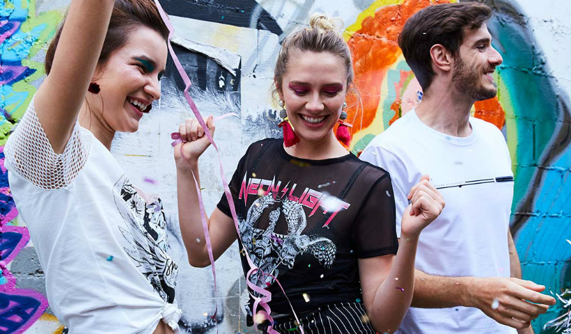 Rock e flores no Carnaval da Damyller