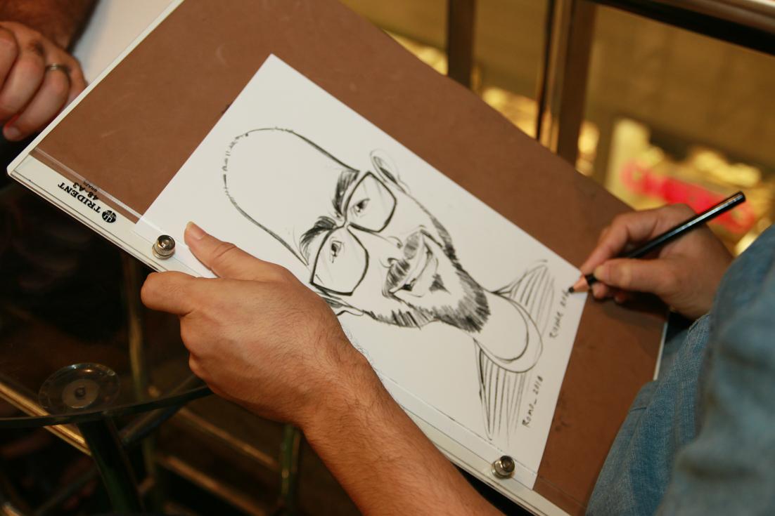 O humor envolvido nos traços do caricaturista Romo