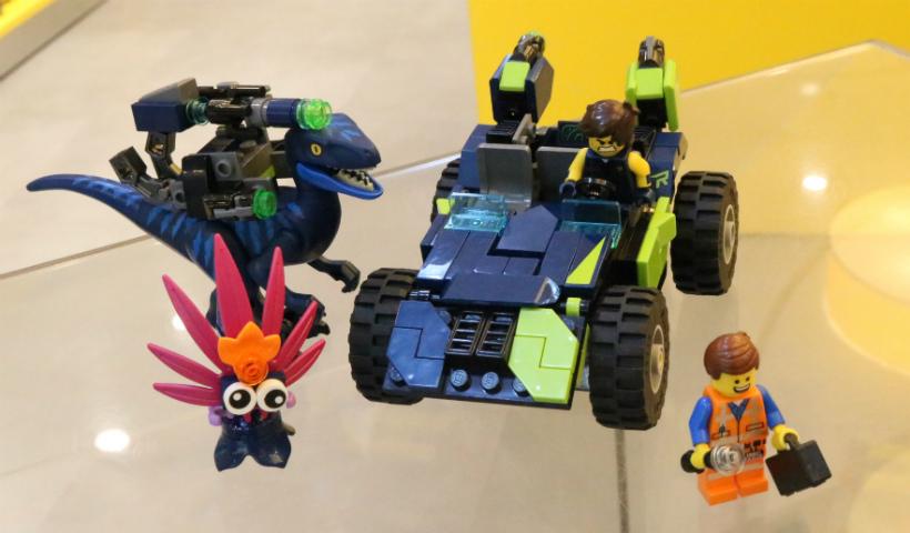 Cenas da animação Uma Aventura Lego 2 chegam à loja do RioMar