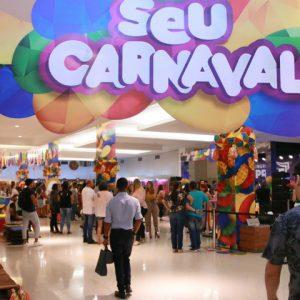 No RioMar, tem tudo para o seu Carnaval