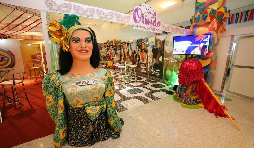 Lounges das principais festas no espaço Cidade Seu Carnaval