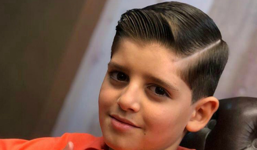 Corte de cabelo da moda faz sucesso entre os pequenos