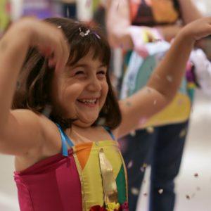 Frevo pra gente pequena no Folia Kids do RioMar