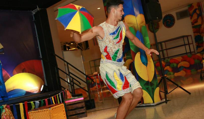 Frevo, arte e música no fim de semana do RioMar