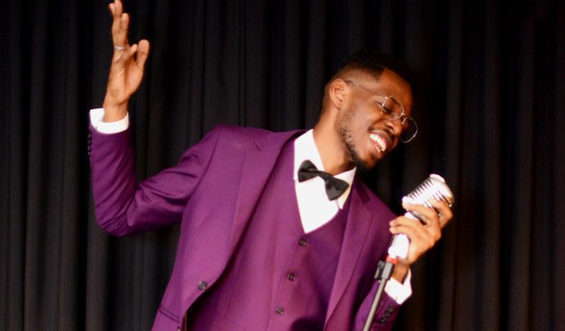 Hoje tem show com Kevin Ndjana no RioMar