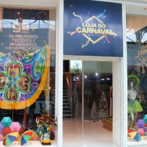 Loja do Carnaval inaugura no RioMar e traz o colorido à folia
