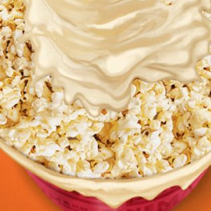 """Pipoca """"n cream"""" é novidade no cardápio da Cinemark"""