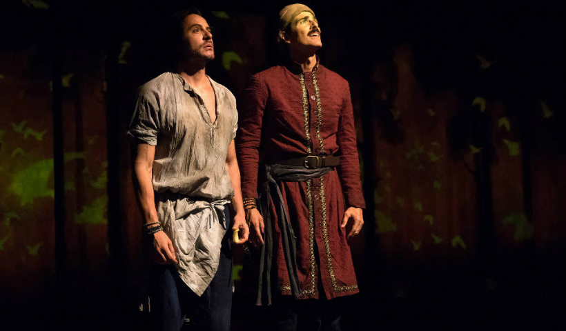 Reynaldo Gianecchini e Ricardo Tozzi em Os Guardas do TAJ