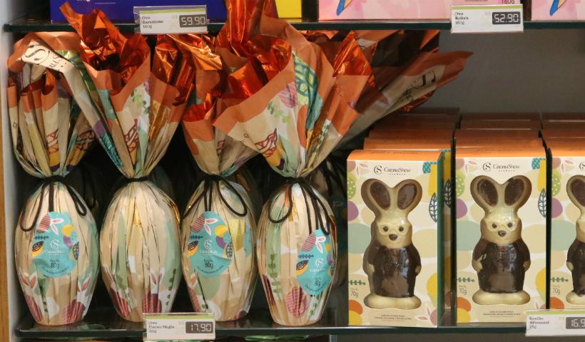 RioMar já em clima de Páscoa com ovos e chocolates