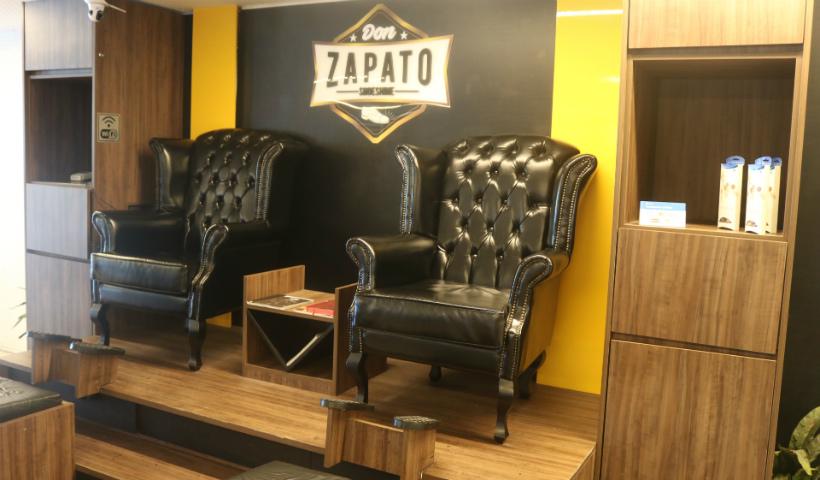 Inspirada nas engraxatarias inglesas, conheça a Don Zapato