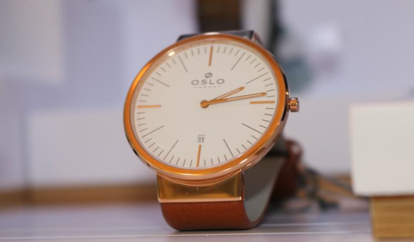 Relógios Oslo reúnem estilo e tecnologia na Clock's