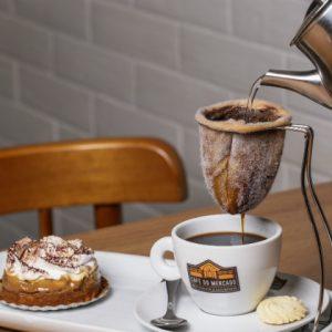 Tem cheirinho de café no RioMar…