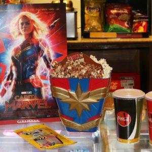 Combo promocional do filme Capitã Marvel