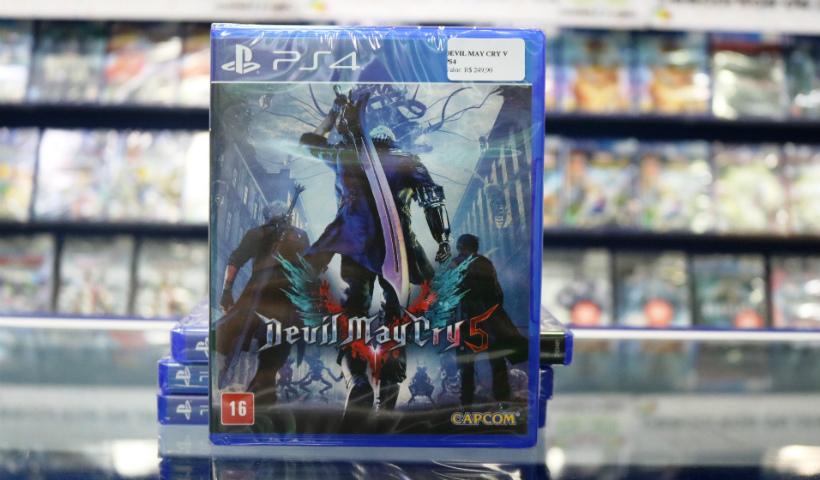 Game Devil May Cry 5 chega ao RioMar