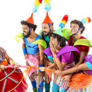 Dia do Circo com muita música e diversão para a criançada no RioMar