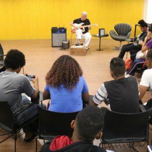 Instituto JCPM promove oficina de jazz para juventude