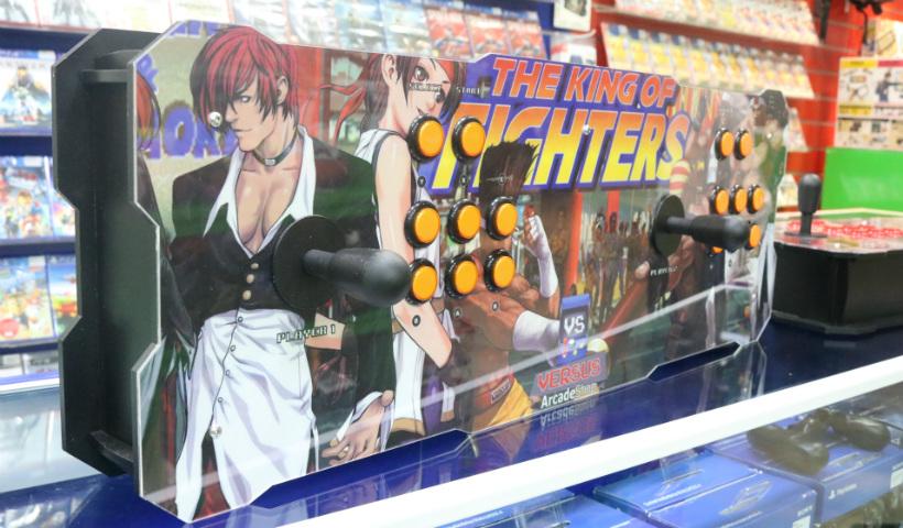 Pura nostalgia: fliperama portátil com jogos clássicos de arcade