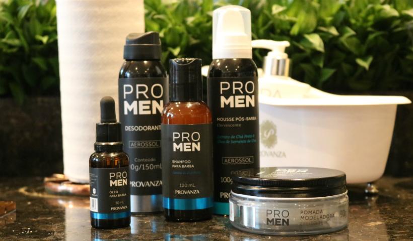 Provanza apresenta linha de beleza voltada para os homens