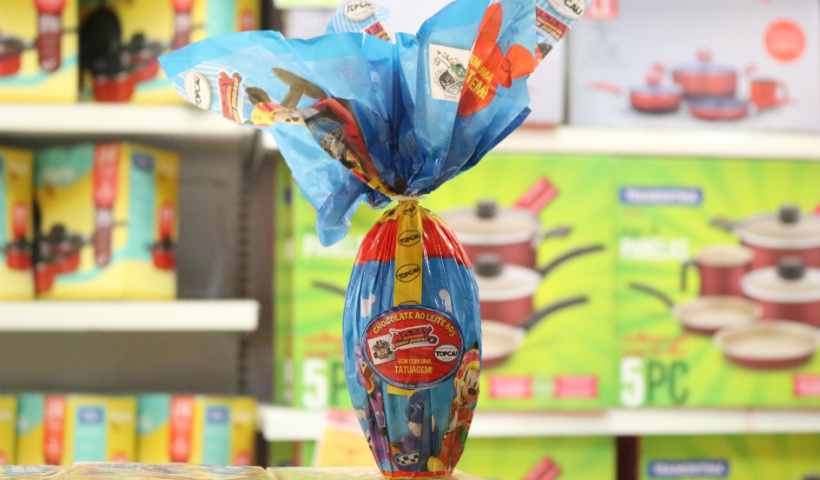 Ovos de Páscoa infantis de até R$ 30