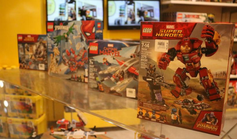 Lego dos Vingadores conquista a criançada