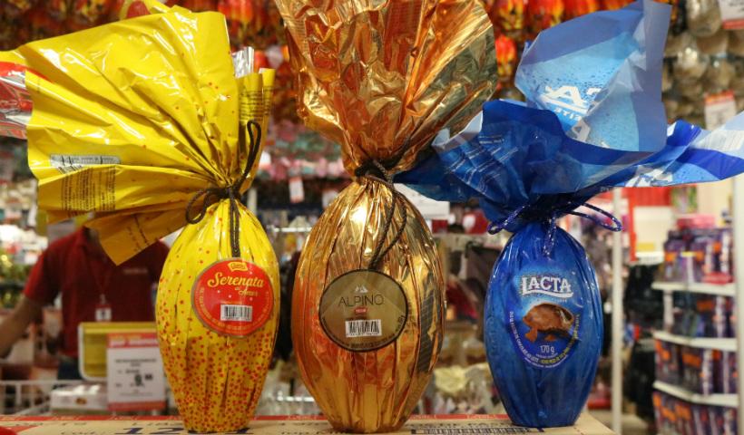 Ovos de Páscoa de até R$ 50