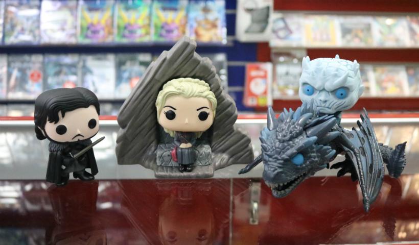 Jon Snow e Daenerys entre os colecionáveis de Game of Thrones