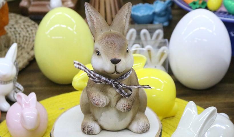 Páscoa Kinitos vai de ovos de chocolate a louças decorativas