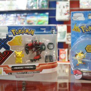 Pikachu e Meowth entre os colecionáveis de Pokémon